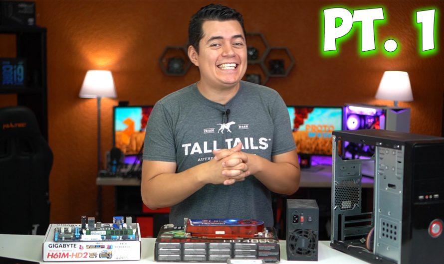 ¿Podré Armar PC Gamer de $100 USD con piezas del Mercado Negro?