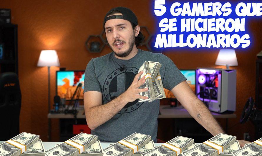 5 Gamers que se hicieron MILLONARIOS ¡Te cuento el secreto!