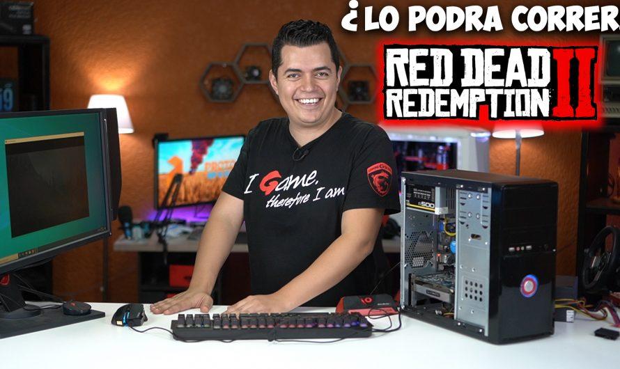 ¿La PC Gamer de 100 USD puede correr Red Dead Redemption 2?