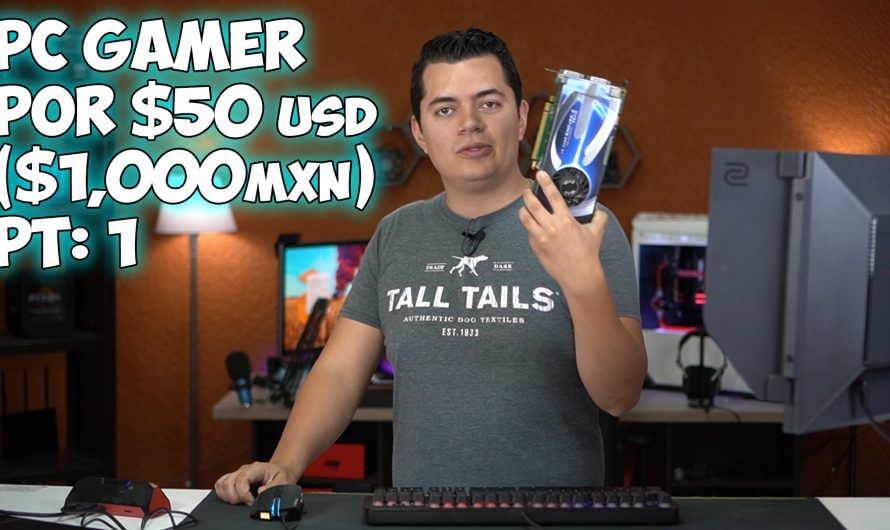 Armo PC Gamer por solo $50USD