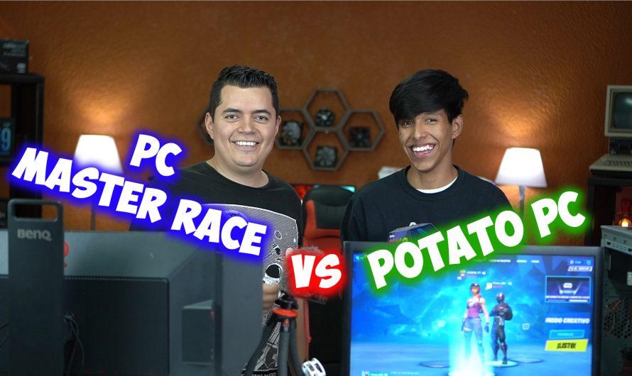 PC Master Race VS Potato PC ft. Yanpol